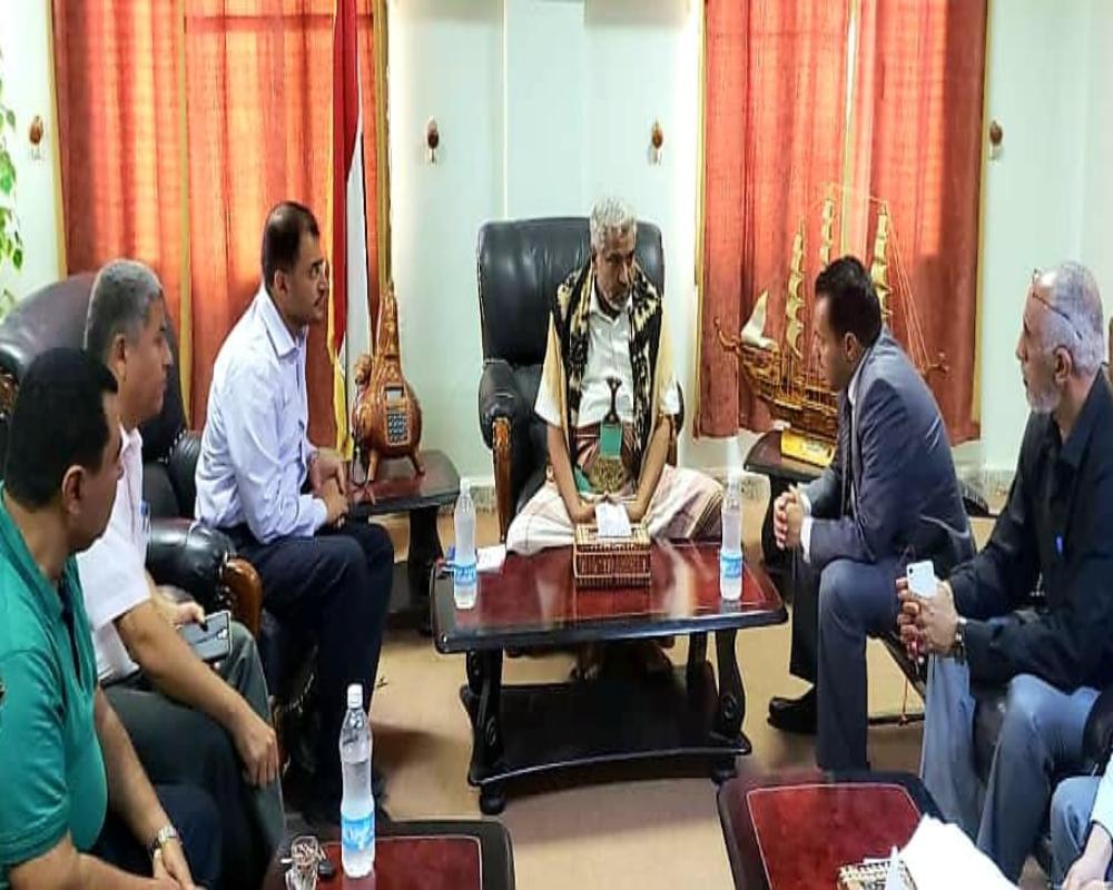 مناقشة سبل دعم جامعة الحديدة بين وزارة التعليم العالي والبحث العلمي ومحافظة الحديدة