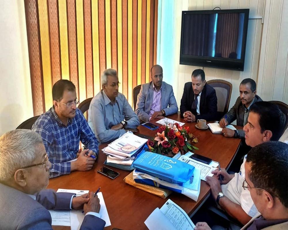إجتماع اللجنة التنفيذية لمسابقة مشاريع التخرج
