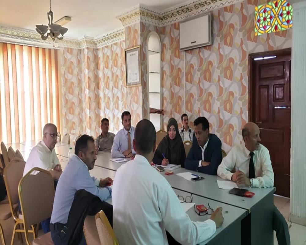اجتماع اللجنة المكلفة بإعداد نظام الترميز الأكاديمي