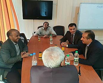 وزير التعليم العالي يستقبل أمين عام المجلس السياسي الأعلى في مركز تقنية المعلومات
